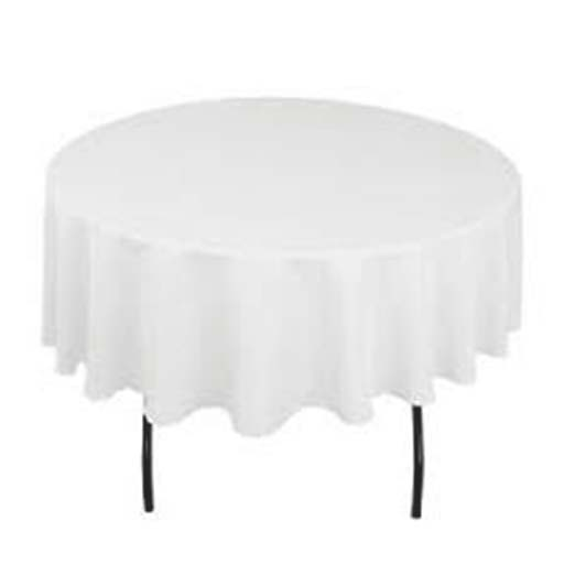 Round Table+Cloth for 1/2 Length