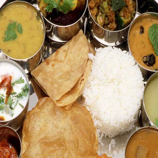 Veg White Rice Meal