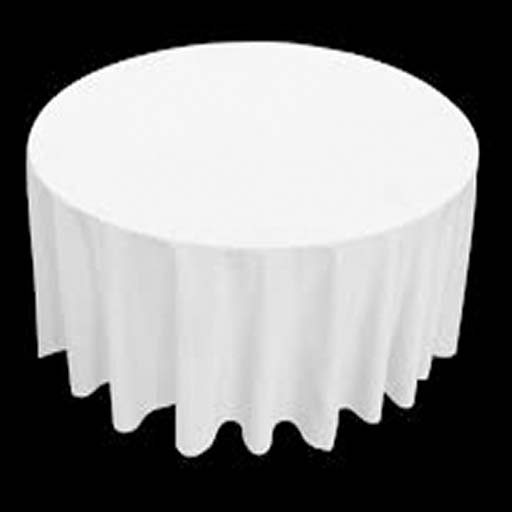 Round Table+Cloth for Full Length