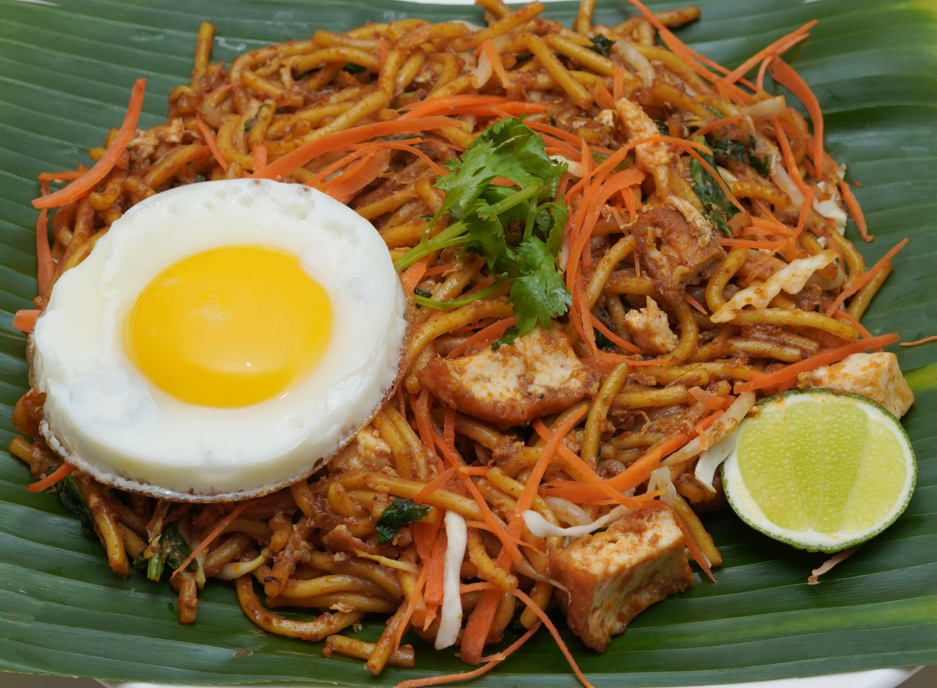 Mee Goreng with Egg